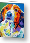 Spaniel Print Greeting Cards - Kooiker - Dakota Greeting Card by Alicia VanNoy Call