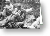 Friend Greeting Cards - Korean War, 1950 Greeting Card by Granger