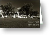 Duotone Greeting Cards - La Butte Greeting Card by Scott Pellegrin