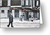 St. Charles Greeting Cards - La Chic Regal Pointe St. Charles Greeting Card by Reb Frost