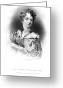 1833 Greeting Cards - Lady Caroline Lamb Greeting Card by Granger