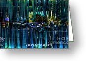 Chuck Kuhn Photography Greeting Cards - Lady Gaga Crystal Cave Greeting Card by Chuck Kuhn