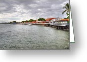 Lahaina Greeting Cards - Lahaina Postcard Greeting Card by Kelly Wade