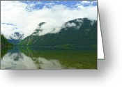Lake Bohinj Greeting Cards - Lake Bohinj Greeting Card by Daniel Csoka