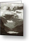 Glacier Greeting Cards - Lake Louise Greeting Card by RicardMN Photography