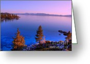 Nevada Greeting Cards - Lake Tahoe Serenity Greeting Card by Scott McGuire