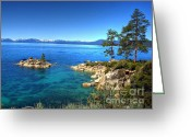 Nevada Greeting Cards - Lake Tahoe State Park Nevada Greeting Card by Scott McGuire