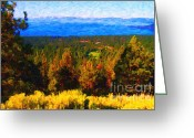 Bierstadt Greeting Cards - Lake Tahoe Greeting Card by Wingsdomain Art and Photography