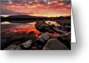 Lake Tekapo Greeting Cards - Lake Tekapo Greeting Card by Gerald Lim