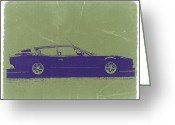 Italian Classic Cars Greeting Cards - Lamborghini Espada Greeting Card by Irina  March