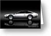 1970s Photo Greeting Cards - Lamborghini Jarama 1972 Greeting Card by Oleksiy Maksymenko
