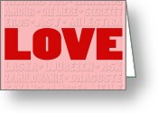 Amor Photo Greeting Cards - Language of Love 3 Greeting Card by Andrew Fare