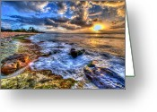 Beaches Greeting Cards - Lanis Delight Greeting Card by Phillips Photography