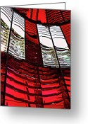 Featured Greeting Cards - Lantern Room Greeting Card by Kami McKeon
