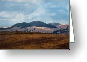 Scenary Greeting Cards - Las Trampas Hills Greeting Card by Karen  W Meyer