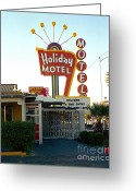 Nv Greeting Cards - Las Vegas Greeting Card by Jan Faul