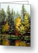 October Greeting Cards - Last Call Greeting Card by Mary Giacomini