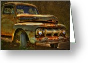 Antique Truck Greeting Cards - Last of the Best Greeting Card by Thomas Young