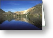 Mountain Laurel Greeting Cards - Laurel Lake, A High Sierra Alpine Lake Greeting Card by Rich Reid