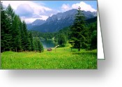 Kevin W .smith Greeting Cards - Lautersee Greeting Card by Kevin Smith