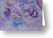 Bletila Striata Greeting Cards - Lavender Haze Greeting Card by Don  Wright