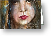 Lay Greeting Cards - Lay lady Lay Greeting Card by Paul Lovering