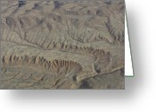 Layer Greeting Cards - Layers of Erosion Greeting Card by Tim Grams
