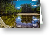 Vista Greeting Cards - Lazy Afternoon Greeting Card by Bob Orsillo