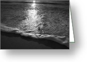Beach Photograph Photo Greeting Cards - Leading Edge II Greeting Card by Steven Ainsworth