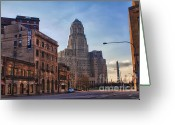 City Hall Greeting Cards - Lease It Greeting Card by Chuck Alaimo