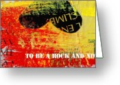 Graffiti Art For The Home Greeting Cards - Led by Zeppelin Greeting Card by Anahi DeCanio