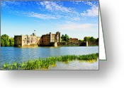 Viii Greeting Cards - Leeds Castle 2 Greeting Card by Chris Thaxter