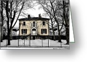 Fairmount Park Greeting Cards - Lemon Hill Mansion - Philadelphia Greeting Card by Bill Cannon