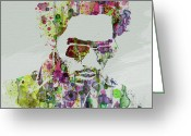 R Greeting Cards - Lenny Kravitz 2 Greeting Card by Irina  March