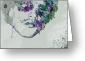 R Greeting Cards - Lenny Kravitz Greeting Card by Irina  March