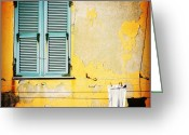 Igdaily Greeting Cards - Let It All Hang Out #italy #wall Greeting Card by A Rey