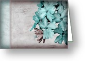 Hues Greeting Cards - Letter From Home Greeting Card by Bonnie Bruno
