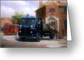 Birmingham Greeting Cards - Leyland dray. Greeting Card by Mike  Jeffries