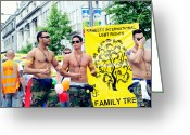 Activists Greeting Cards - Lgbt  Greeting Card by Oxana