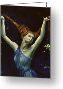 Zodiac Greeting Cards - Libra from Zodiac series Greeting Card by Dorina  Costras