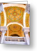 Cities Greeting Cards - Library of Congress III Greeting Card by Steven Ainsworth