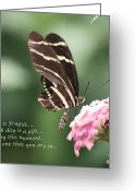 Susan Stevens Crosby Greeting Cards - Life is Fragile Greeting Card by Susan Stevens Crosby
