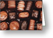 Selection Greeting Cards - Life Is Like A Box Of Chocolates 1 Greeting Card by Andee Photography