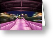 Photo Art Greeting Cards - Life Under the City in Geneva Greeting Card by Chris Smith