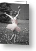Dancing Greeting Cards - Lifes a Dance Greeting Card by Cindy Singleton