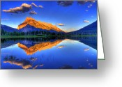 Rocky Mountains Greeting Cards - Lifes Reflections Greeting Card by Scott Mahon