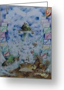 Impassioned Greeting Cards - LifeSeal Greeting Card by Charity Goodwin