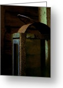 Throw Photo Greeting Cards - Light Decay Greeting Card by Odd Jeppesen
