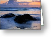 Dusk Greeting Cards - Light of Dusk Greeting Card by Mike  Dawson