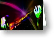 Bass Digital Art Greeting Cards - Light Travels Greeting Card by Ken Walker